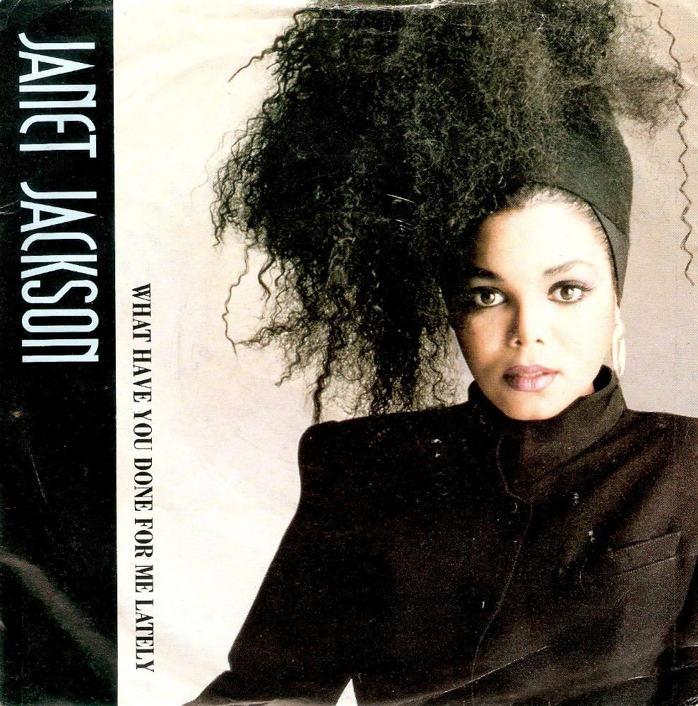 JANET JACKSON What Have You Done For Me Lately Vinyl Record 7 Inch A&M 1986